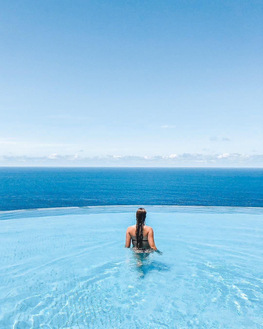 Infinity Pool at The Savaya Bali
