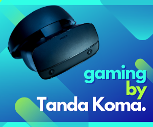 Gaming by Tanda Koma