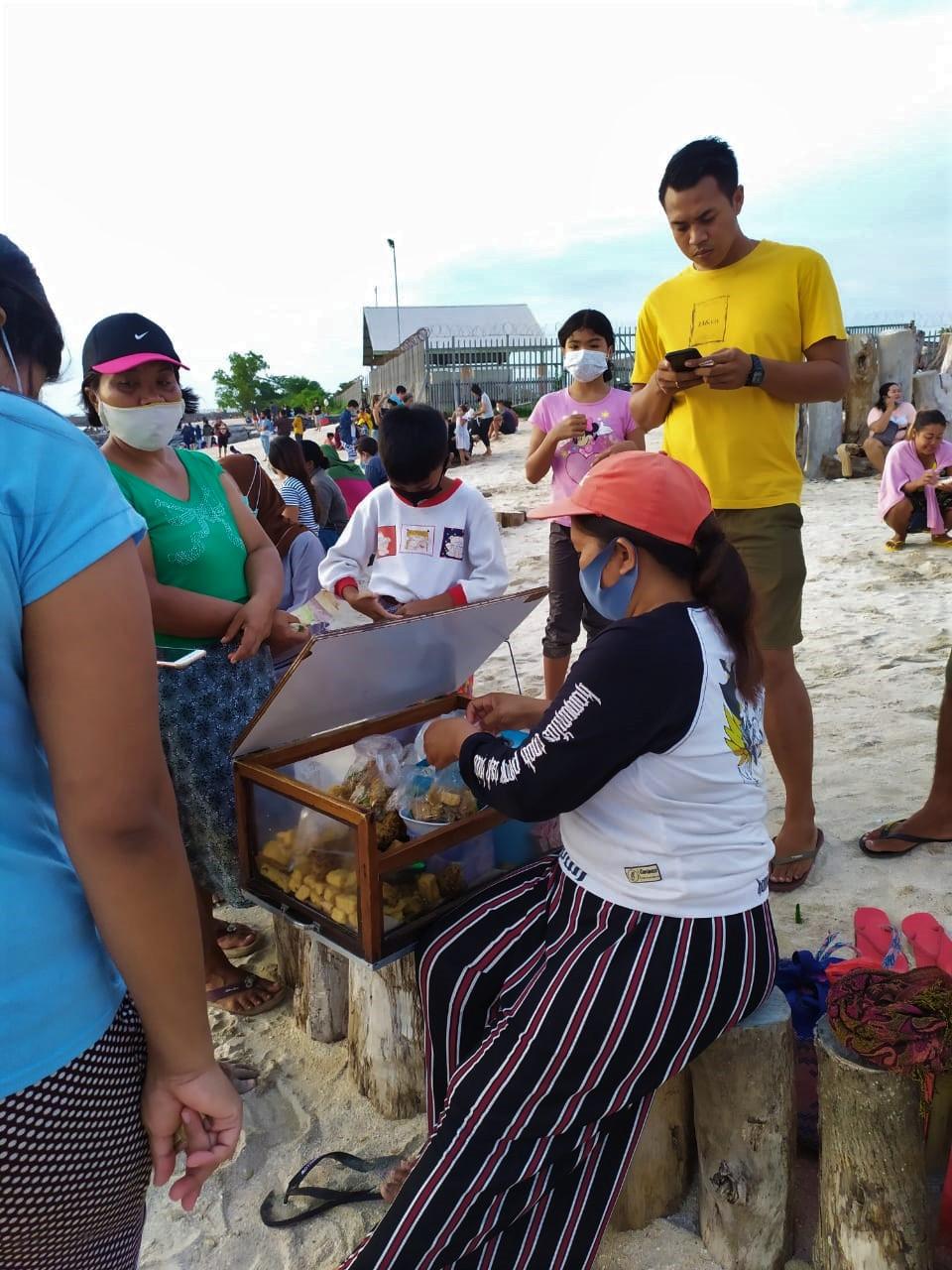 Lumpia Pantai Kelan Bali