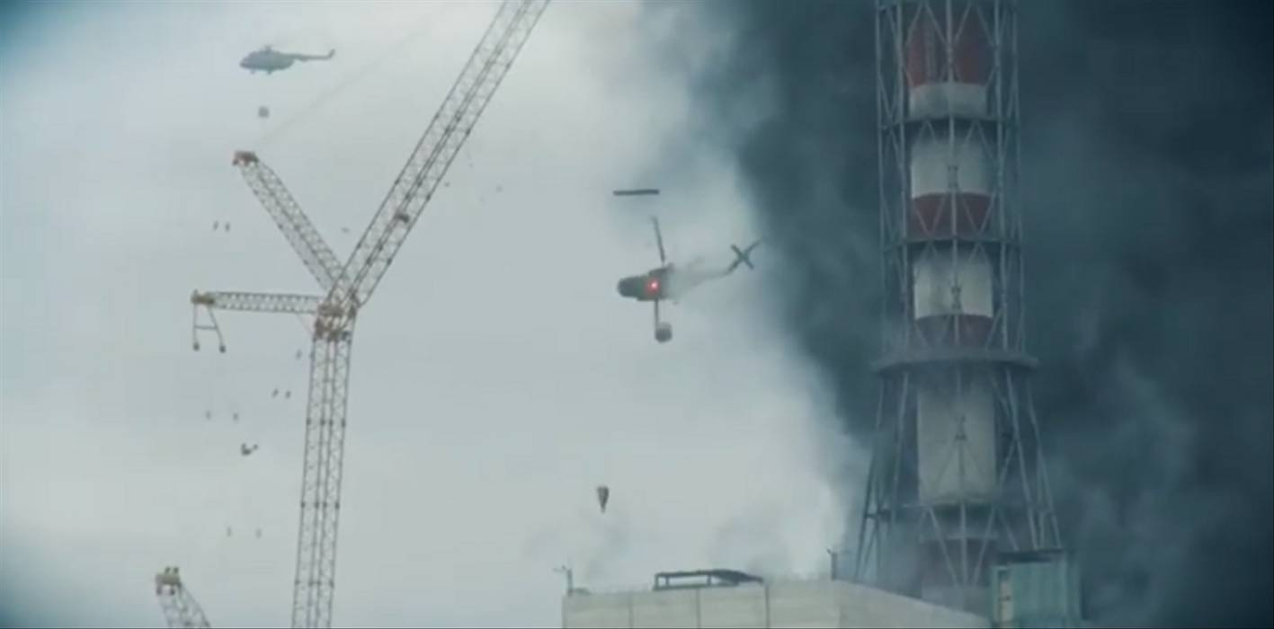 Helikopter Di Chernobyl