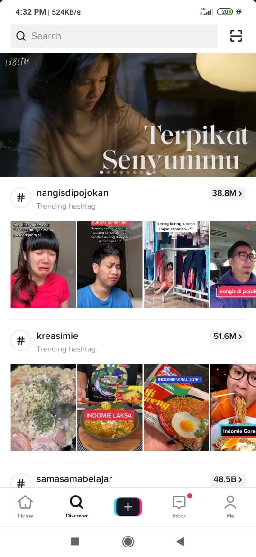 Discover Page Tiktok