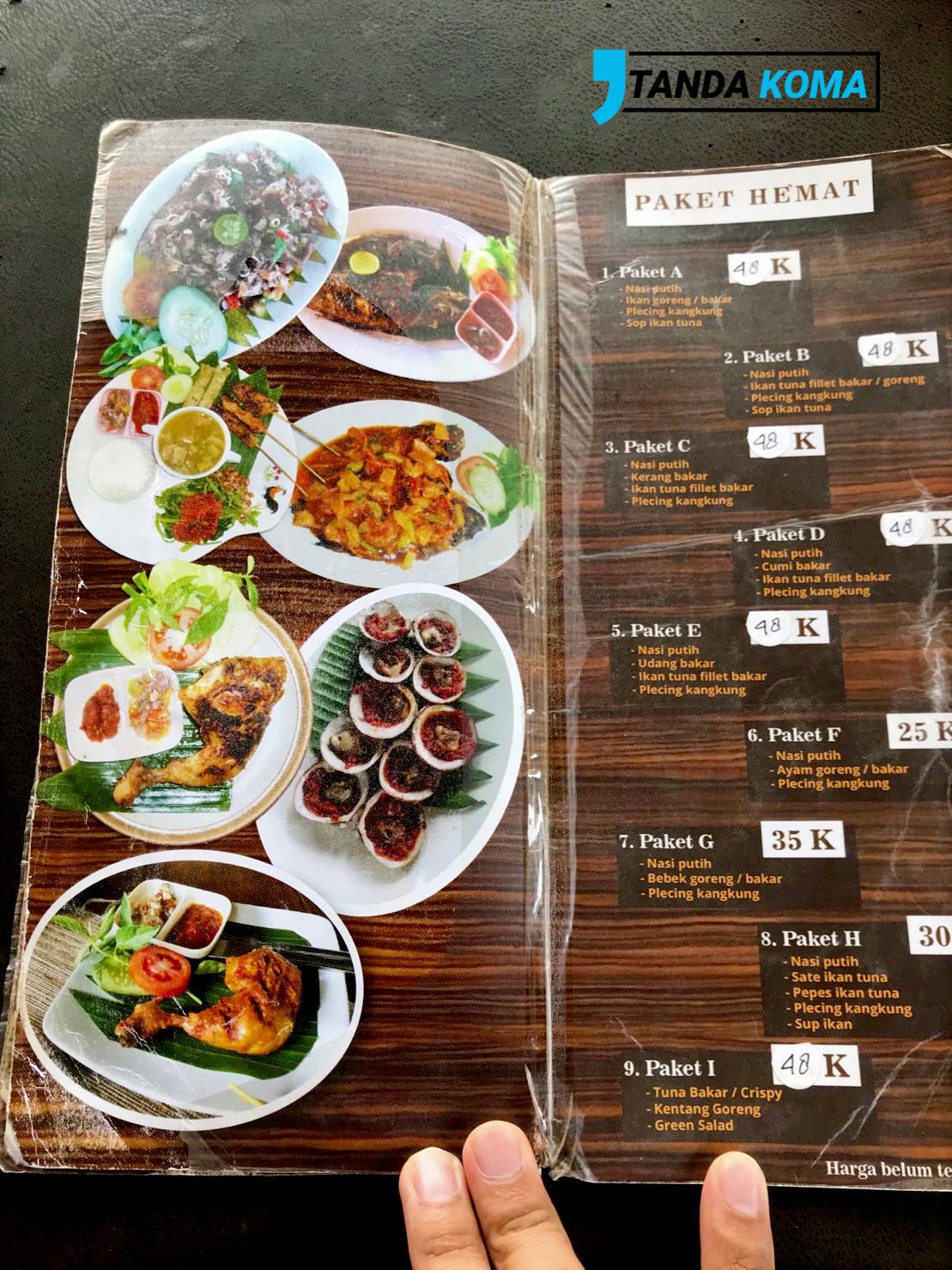 Menu Makan Halal Bali