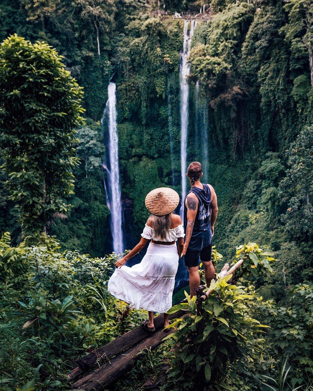 Air Terjun di Bali Instagrammable