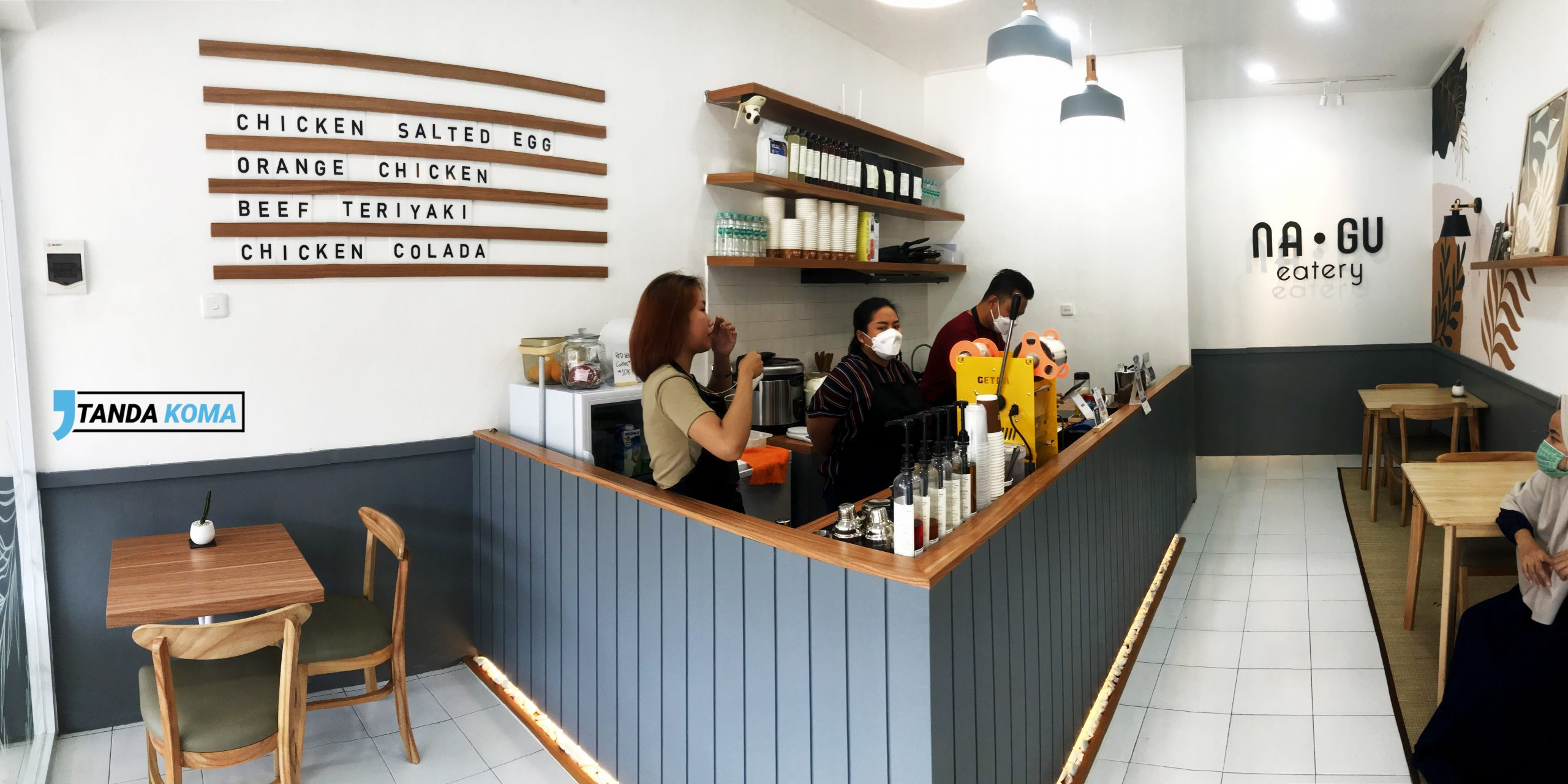 Interior Na Gu Eatery