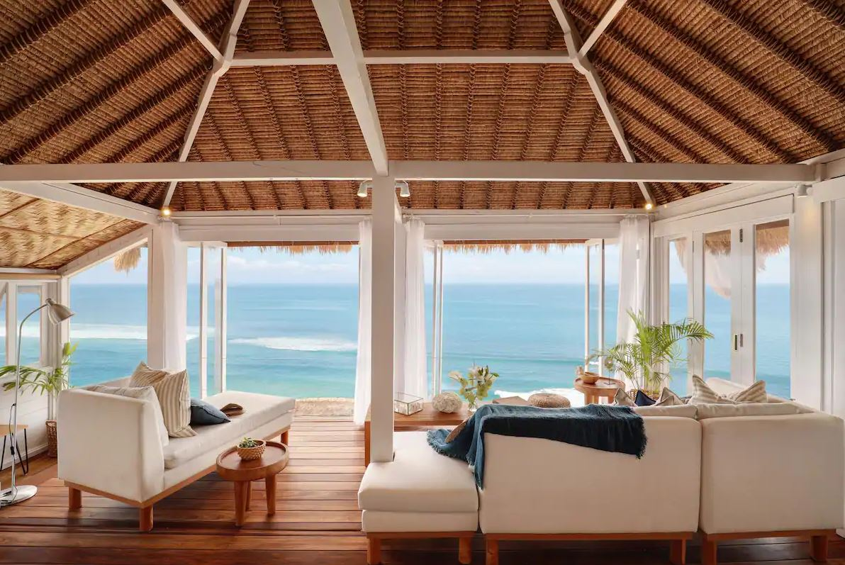 Bingin Cliff House Living Room