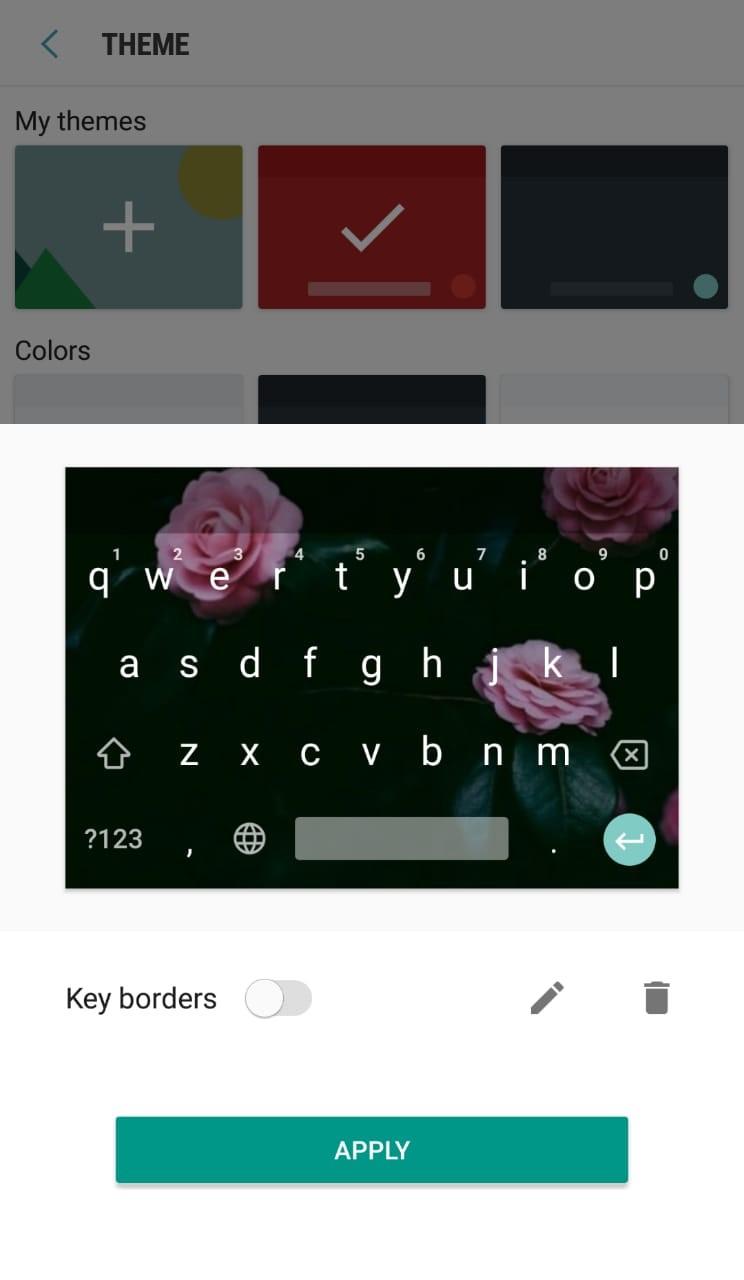 Google Keyboard 9