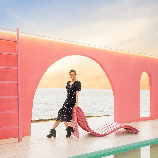 Pink Spot Foto di Heha