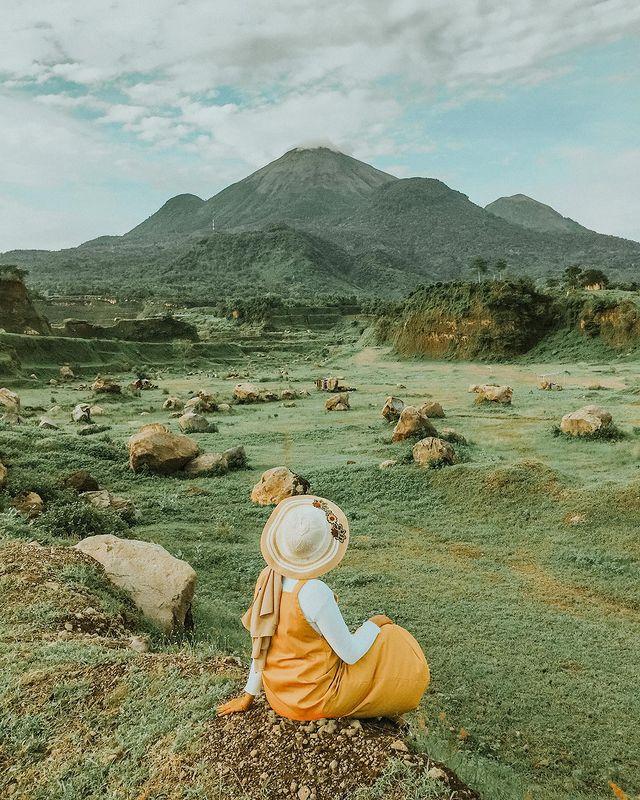 Bebatuan Gunung Di RanuManduro