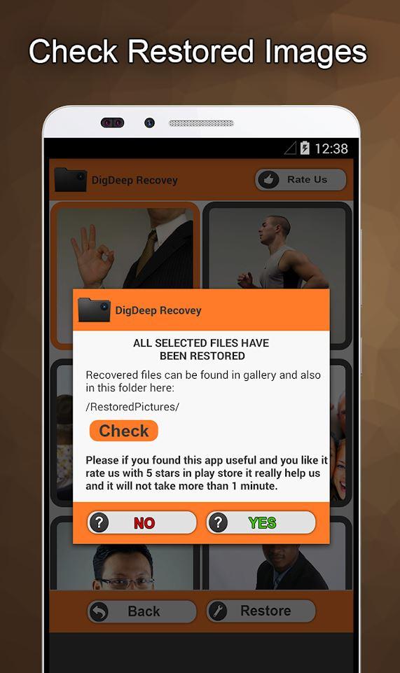 Repair File Image Android