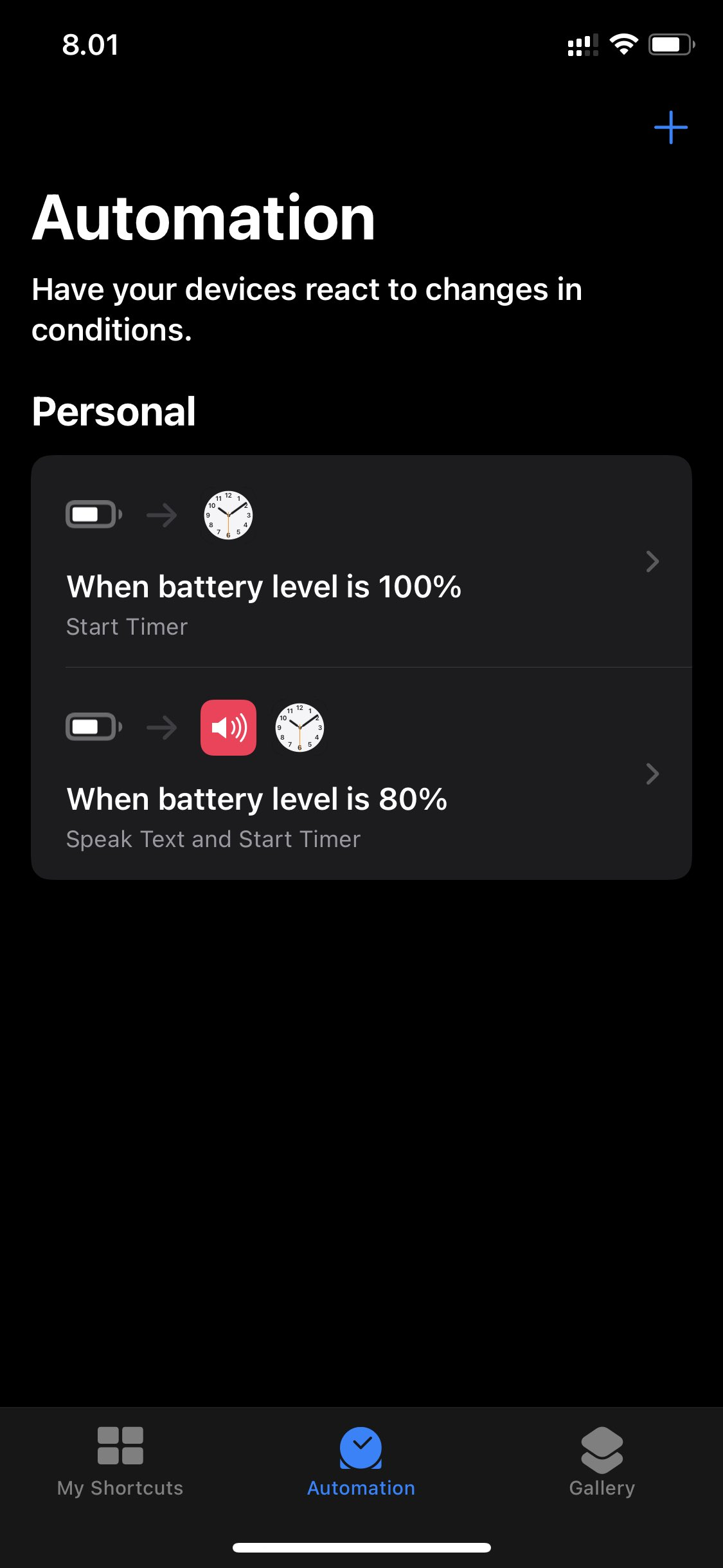 Setup Alarm iPhone