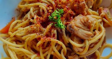 Spaghetti Pedas by @dietnyabesuk