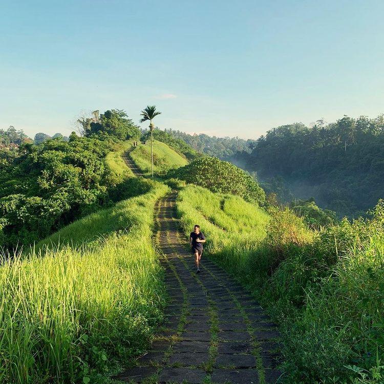 Joging Di Tjampuhan Ubud